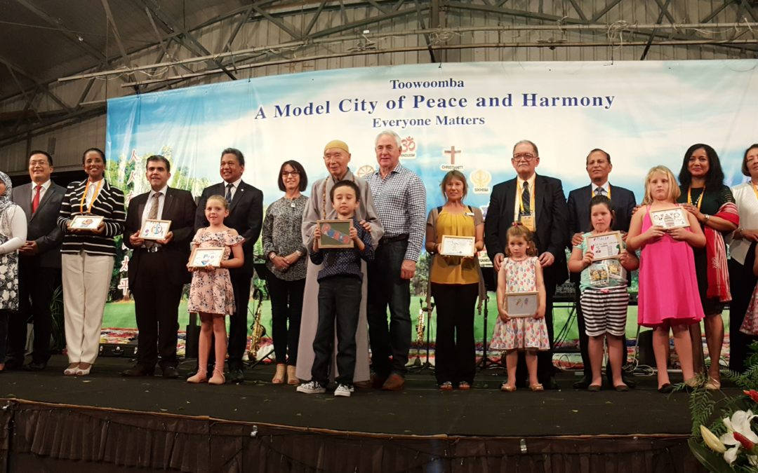 Unesco Ambassadors attend harmony day celebration in Toowoomba