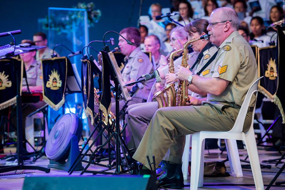 The Australian Army Band Brisbane