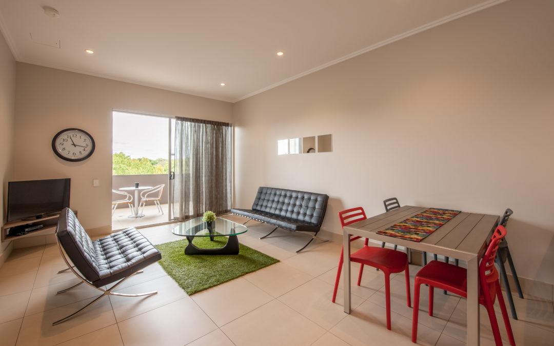 laguna serviced apartments lounge room