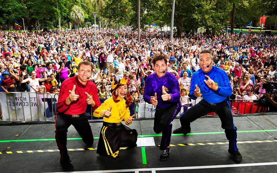 The Wiggles Wiggle Around Australia