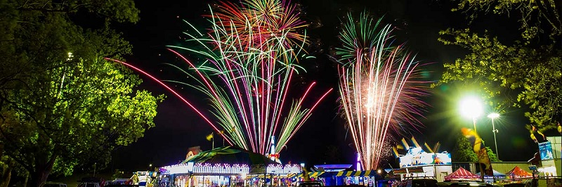 Fireworks Toowoomba Carnival of Flowers 2019