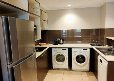Laguna Apartments Kitchen Laundry